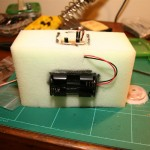 Battery pack (4x lithium AA's)